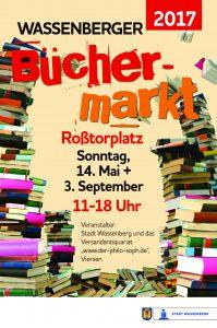 Plakat Büchermarkt Wassenberg 2017